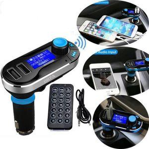 TRANSMETTEUR FM sans fil Bluetooth lecteur émetteur fm mp3 kit cha