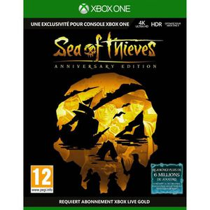 JEU XBOX ONE Jeu Xbox Sea of Thieves : Edition Anniversaire