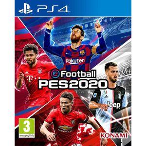 JEU PS4 eFootball PES 2020 Jeu PS4 + 1 Porte Clé Ballon