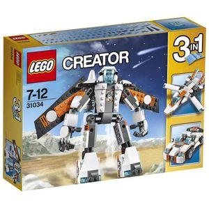 ASSEMBLAGE CONSTRUCTION LEGO® Creator 31034 Les Planeurs du Futur 3 en 1