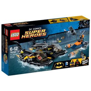 ASSEMBLAGE CONSTRUCTION LEGO 76034 DC Comics Super Heroes - La Poursuite e