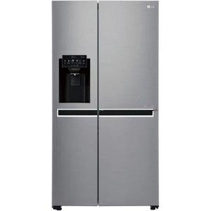 RÉFRIGÉRATEUR AMÉRICAIN LG Réfrigérateur américain GSL6611PS A+ - Gris