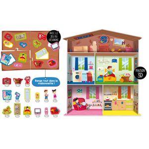 JEU D'APPRENTISSAGE LISCIANI GIOCHI Montessori maxi ma maison - A part
