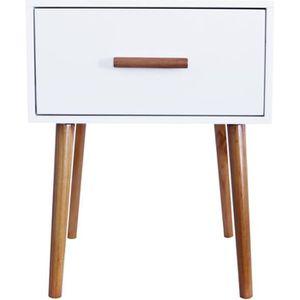 CHEVET MAISON MALIGNE Table de chevet - Coloris : blanc -