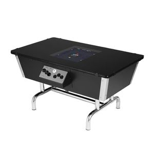 BORNE ARCADE NEO LEGEND Borne d'arcade Table 80s chrome