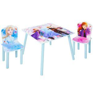 TABLE ET CHAISE Ensemble table et 2 chaises pour enfantsmotif Rei