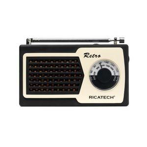 RADIO CD CASSETTE Radio portable AM/FM RICATECH- PR22 Noir