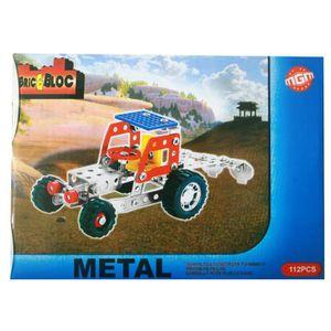 Décors de table Meca metal tracteur 112 pces 21x15x4cm (48)