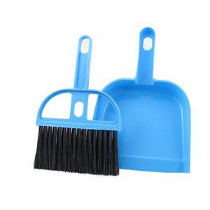 BALAI - PELLE Bureau Maison Voiture Nettoyage Mini-fouet Balai P