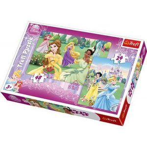 PUZZLE 34103 - PUZZLE  x2 – 24 et 48 PIECES  / Disney ...