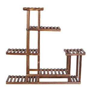 Présentoir en bois vieilli, 95cmx25cmx96cm - Achat / Vente ...