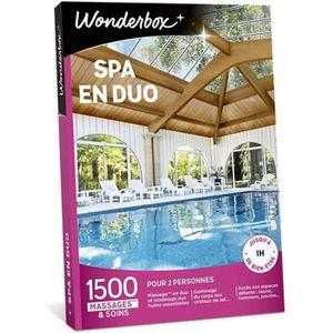 COFFRET BIEN-ÊTRE Wonderbox - Coffret cadeau pour deux - Spa en duo