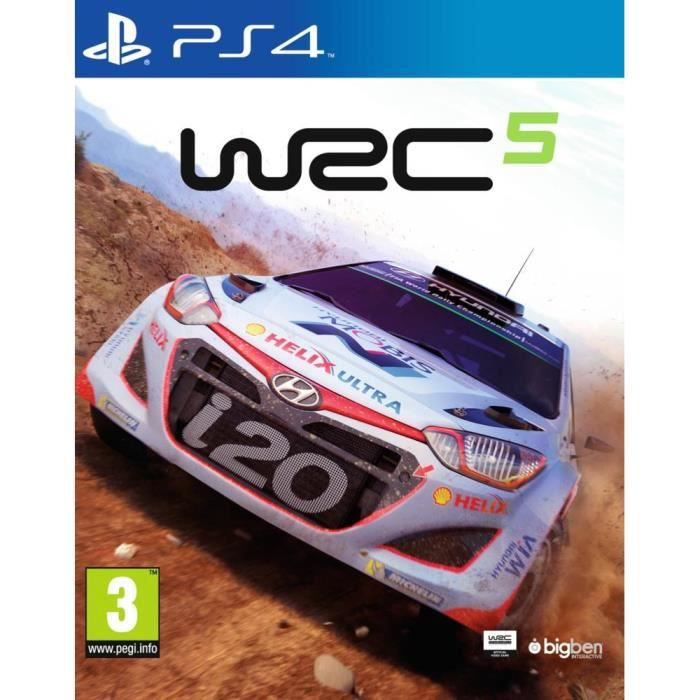 wrc 5 jeu ps4 achat vente jeu ps4 wrc 5 ps4 cdiscount. Black Bedroom Furniture Sets. Home Design Ideas