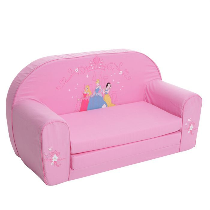 disney princess sofa rose achat vente fauteuil. Black Bedroom Furniture Sets. Home Design Ideas