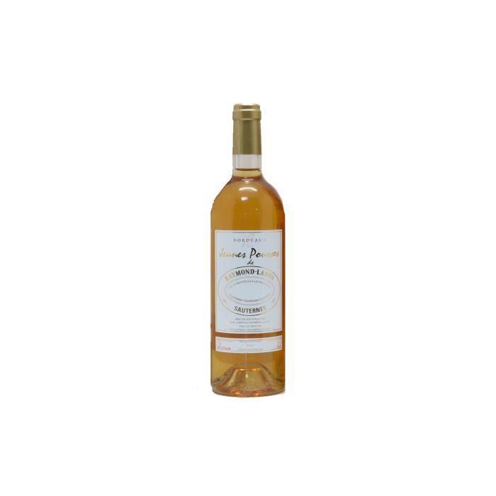 X24 Jeunes Pousses de Raymond-Lafon 2017 - AOC Sauternes - vin blanc - Bouteille (0,75cl)