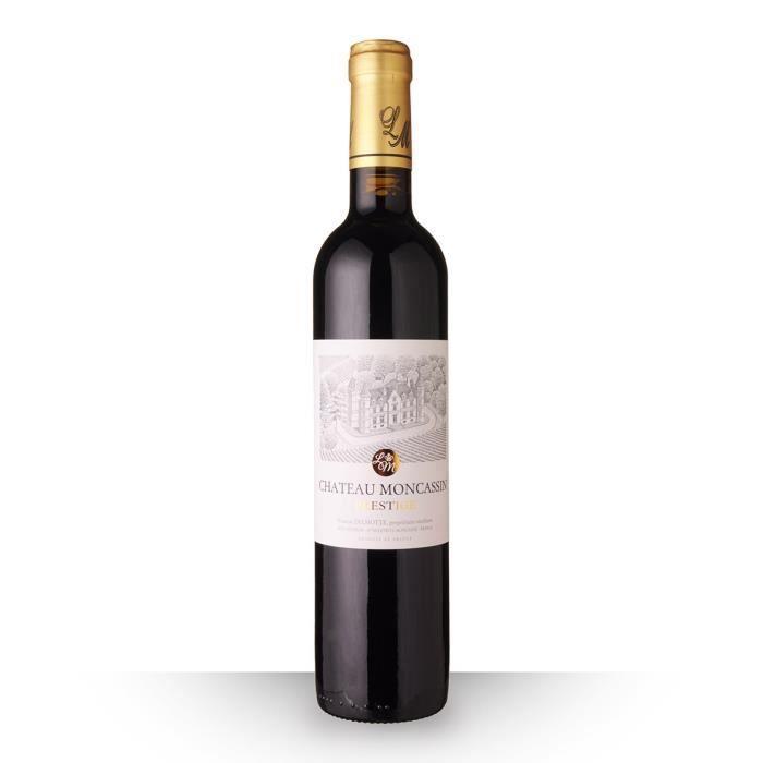Château Moncassin Prestige 2017 AOC Buzet - 50cl - Vin Rouge