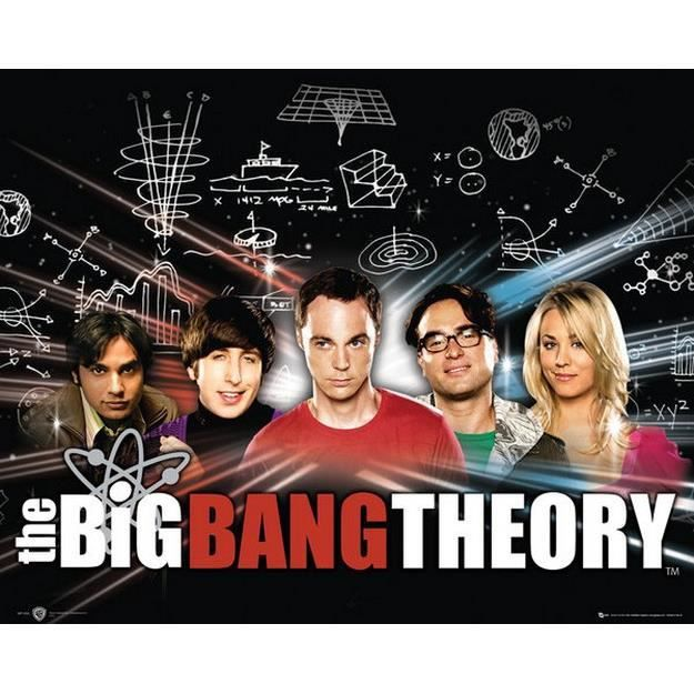 The Big Bang Theory - 40x50cm - AFFICHE - POSTER
