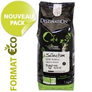 DESTINATION Café Grains Bio Sélection 1kg