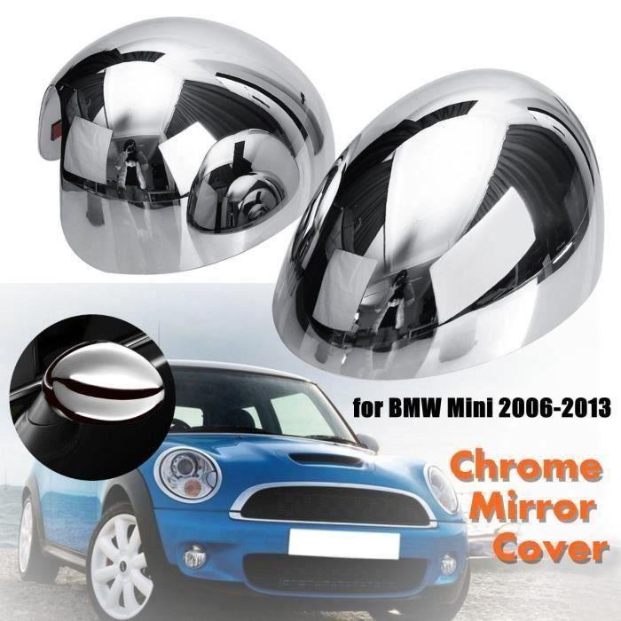 Paire Couvercle de Miroir Chromé Pour BMW Mini Cooper 2006 - 2013 Ve69316