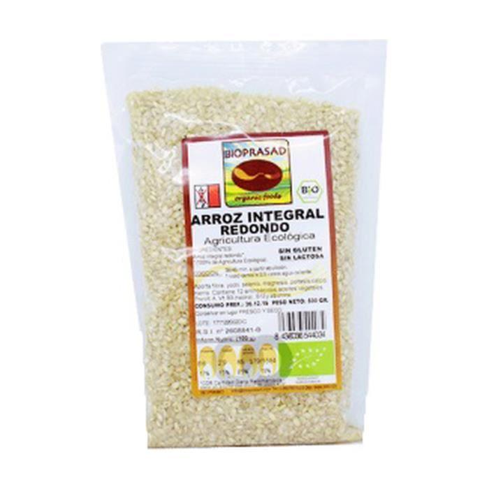 Bioprasad+Riz brun rond 500 g