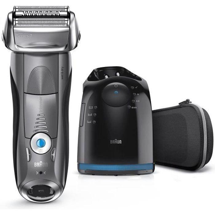 Braun Series 7 7850cc Wet&Dry Rasoir sans fil gris