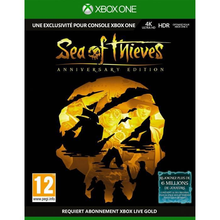 Jeu Xbox Sea of Thieves : Edition Anniversaire