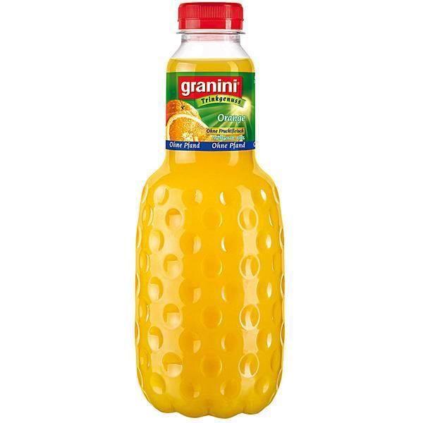 Granini orange sans pulpe 6 x 1l