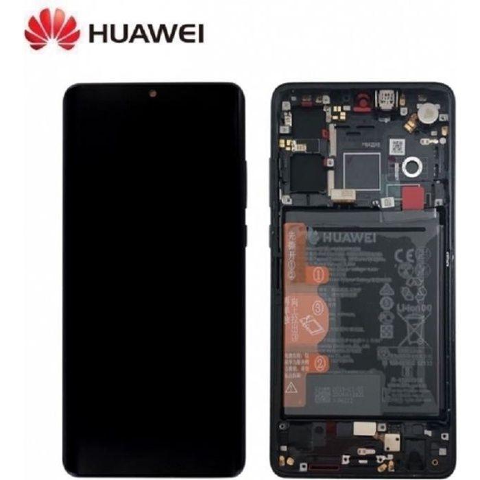 Ecran Complet Noir Huawei P30 (Service Pack)