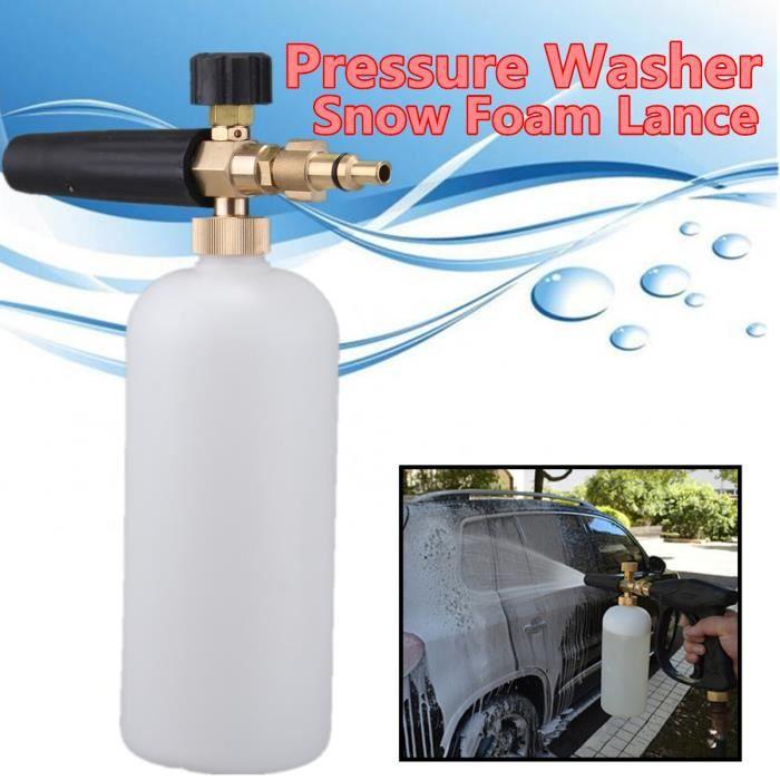 NEUFU Haute Pression Neige Mousse Lance Pr Machine de Lavage Pr Lidl Parkside Qualcast VAX Aldi Workzo