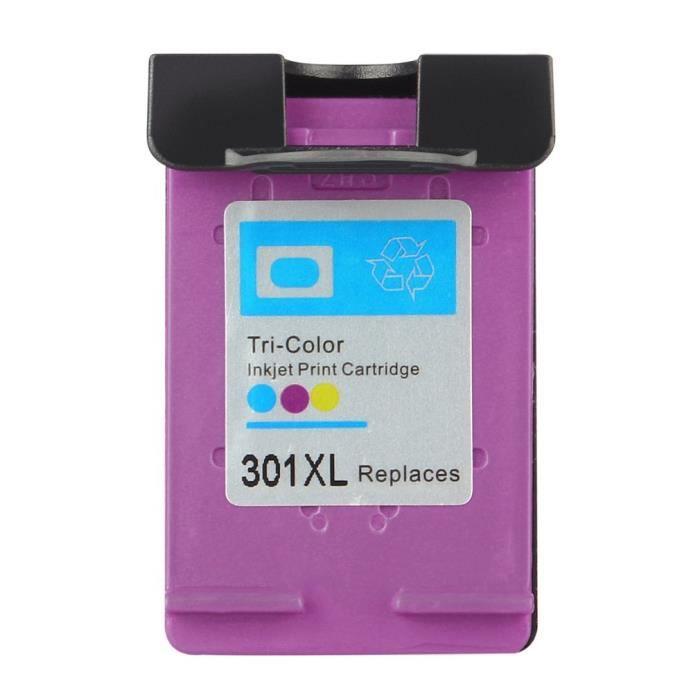 Pour cartouches d'encre couleur HP 301 - 301XL - Pour HP Envy 4500