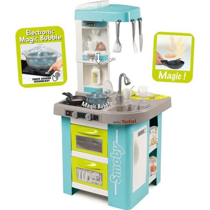 SMOBY Tefal Cuisine French Cooking 26 Accessoires