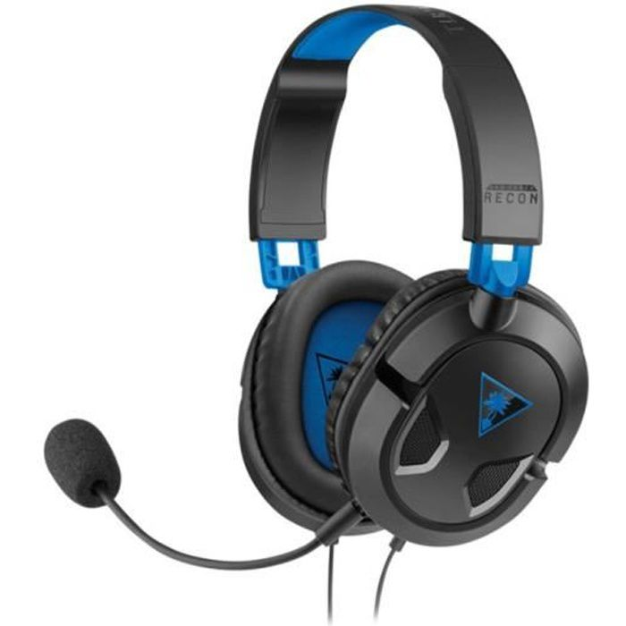 Micro-Casque Gamer RECON 50P Filaire - PS4/Xbox One/PC/Mobile