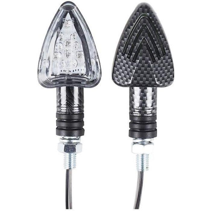 Clignotants LED Homologués Moto - Accessoires moto - SCOOTEO