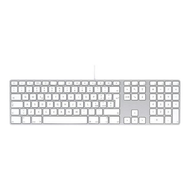 apple keyboard with numeric keypad clavier us prix pas cher cdiscount. Black Bedroom Furniture Sets. Home Design Ideas