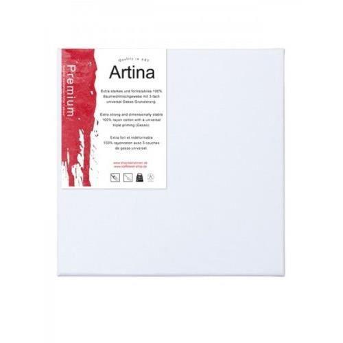 Toile /à peindre Akademie Ch/âssis entoil/é Lot de 10-40x70cm 280g//m/² Artina Appr/êt/ée 2 fois