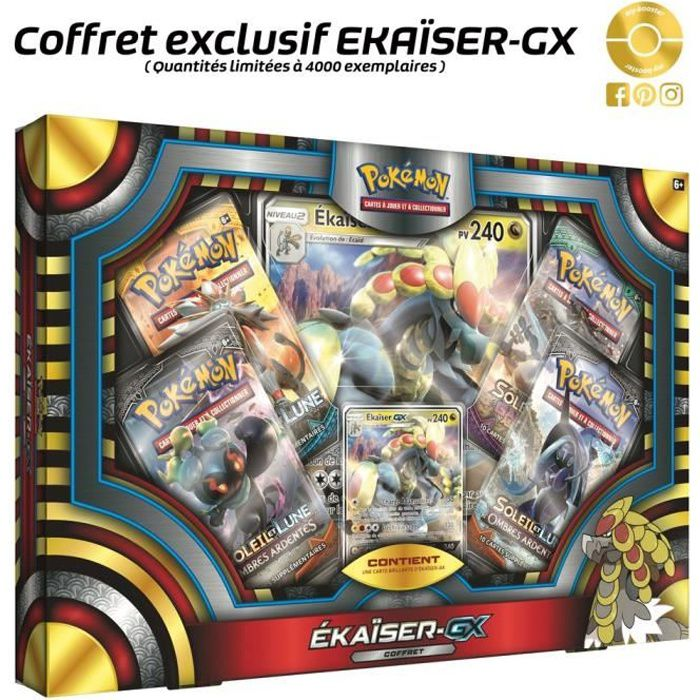 CARTE A COLLECTIONNER POKEMON - Coffret Pokemon - Ekaiser GX 240PV