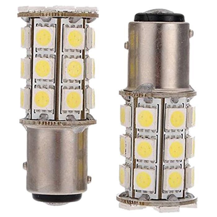 2 X 1157-T25 BAY15D COB LED P21 // 5W signal lumieres Blanche Lumiere SODIAL R signal lumieres