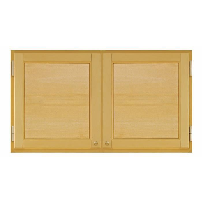 AMENAGEMENT DRESSING Porte De Placard Battante Bois érable 68 Cm X 120