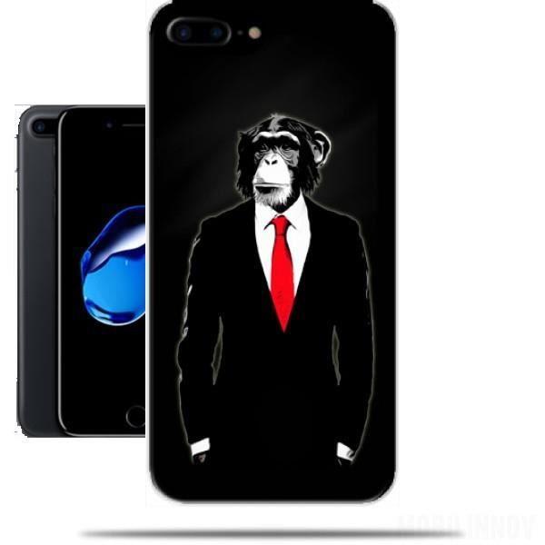 Coque iPhone 5C Homme Singe Costume Cravate Swag Fun Etui Housse ...