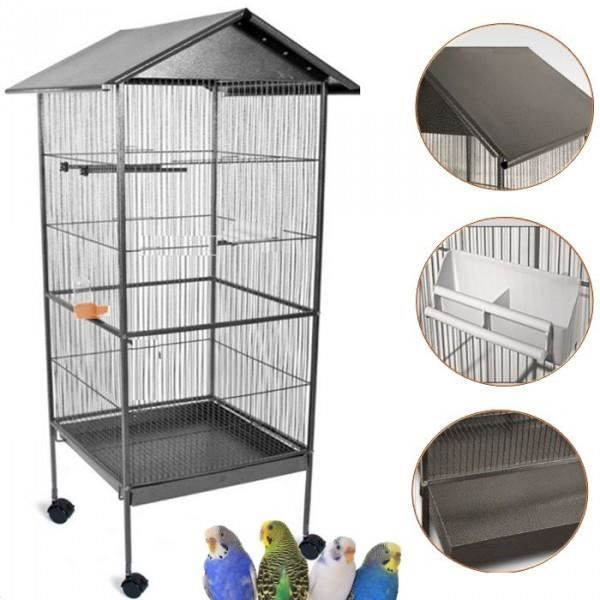 cages habitat oiseaux achat vente cages habitat. Black Bedroom Furniture Sets. Home Design Ideas