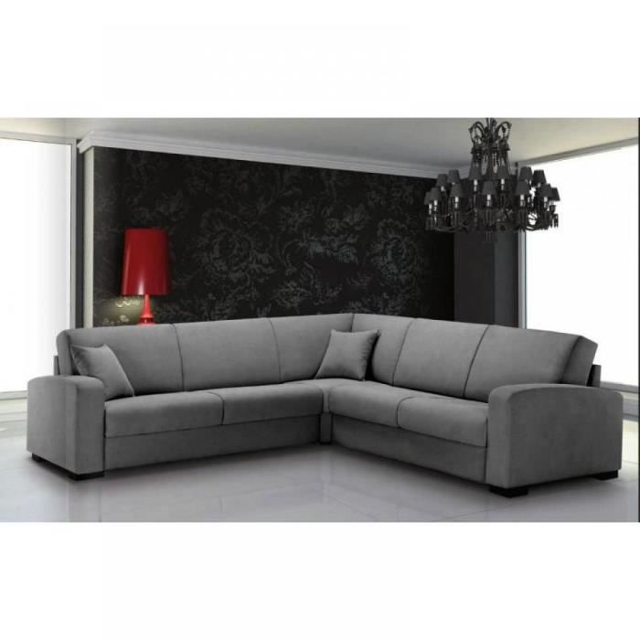 leonardo canap d 39 angle convertible rapido c t achat vente canap sofa divan. Black Bedroom Furniture Sets. Home Design Ideas