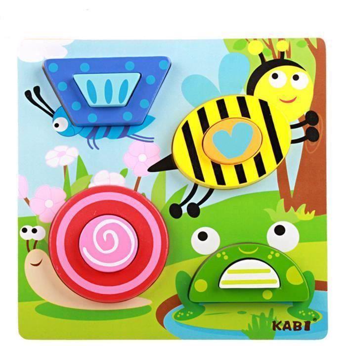 PUZZLE Enfants de développement éducatif 1pc Puzzle en bo