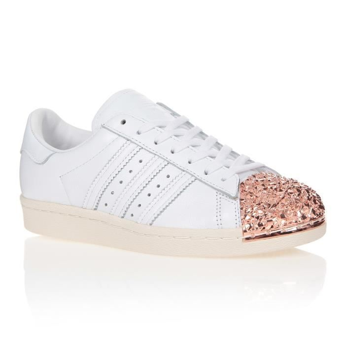 adidas originals baskets superstar 80 femme blanc achat vente basket cdiscount. Black Bedroom Furniture Sets. Home Design Ideas