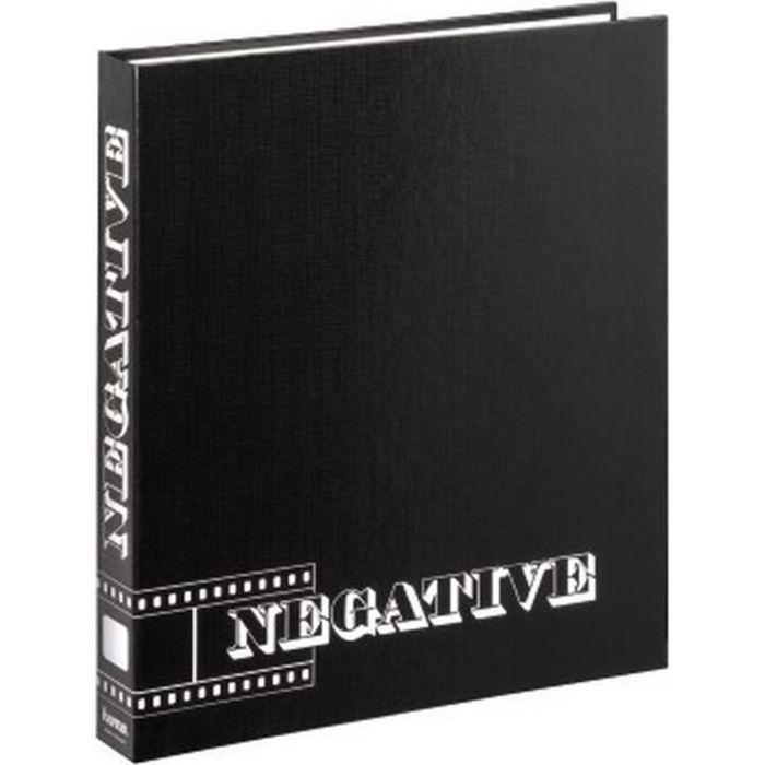 PELLICULE PHOTO HAMA Classeur pour négatifs - 29 x 32,5cm - Noir