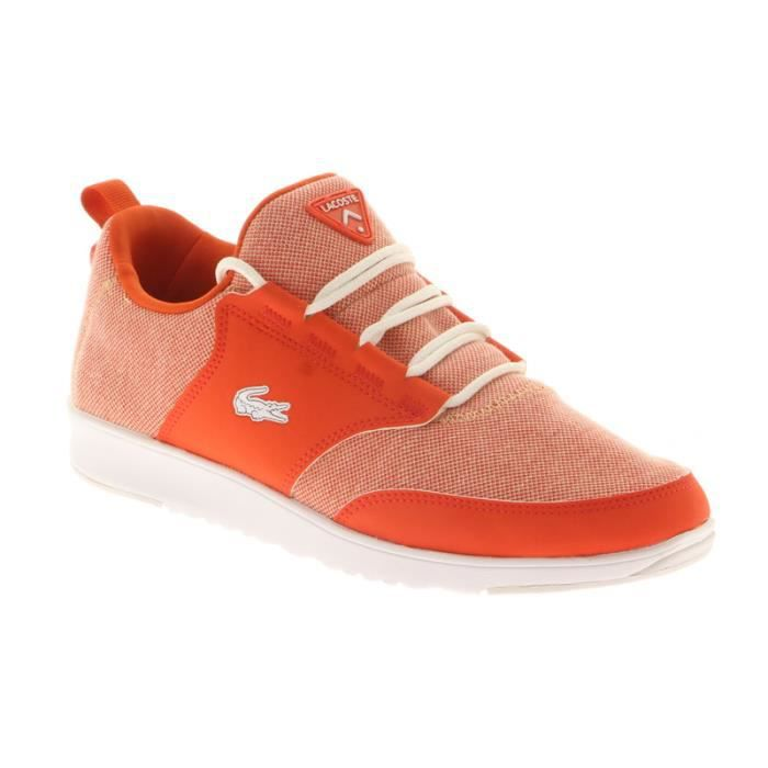 Basket Lacoste Homme Rouge