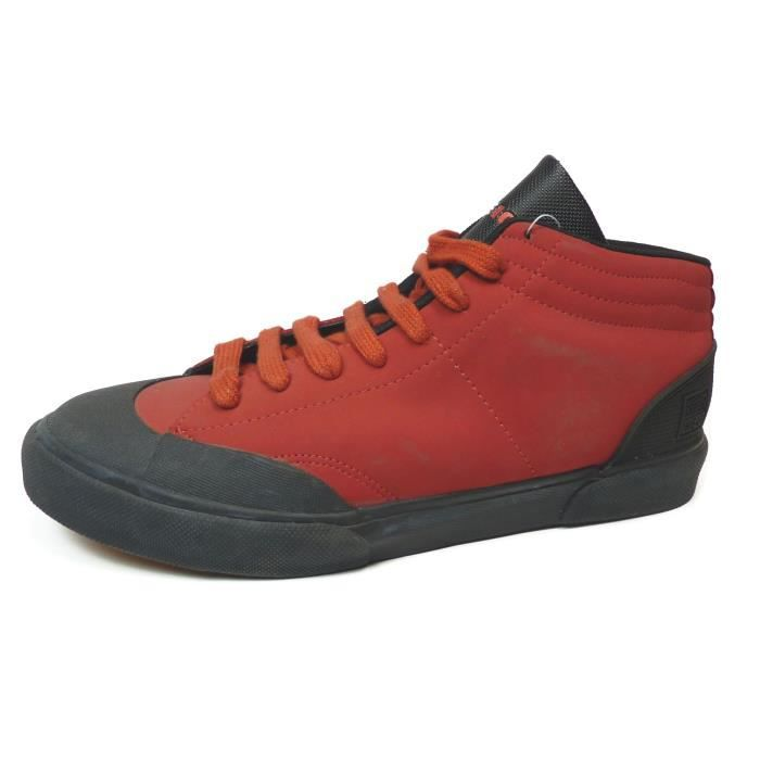 Vintage skate shoes VISION Street wear Threat Red US9