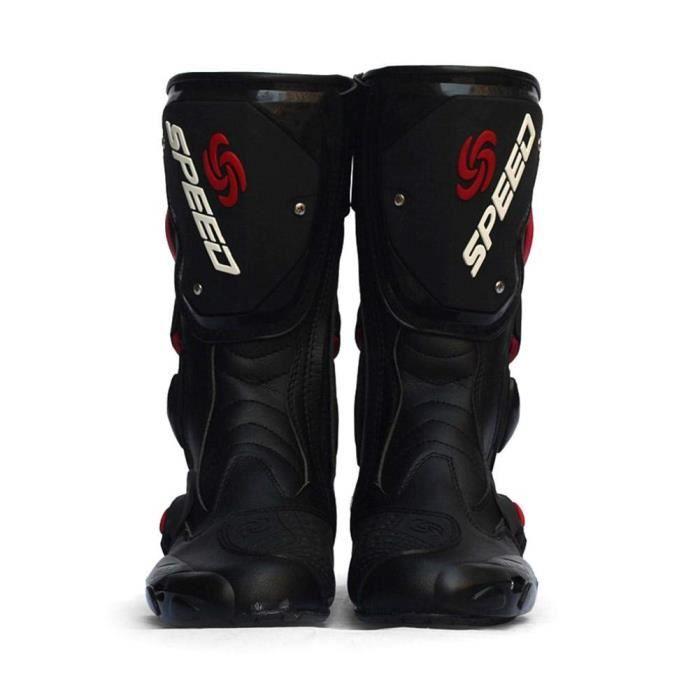 CHAUSSURE - BOTTE Bottes Moto en Cuir Chaussures Bottes Moto Pro-Bik
