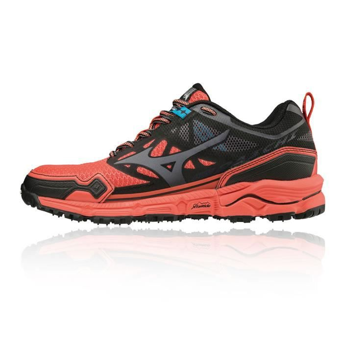 Chaussures Trail Adidas Galaxy Noir Rose Femmes pas cher de