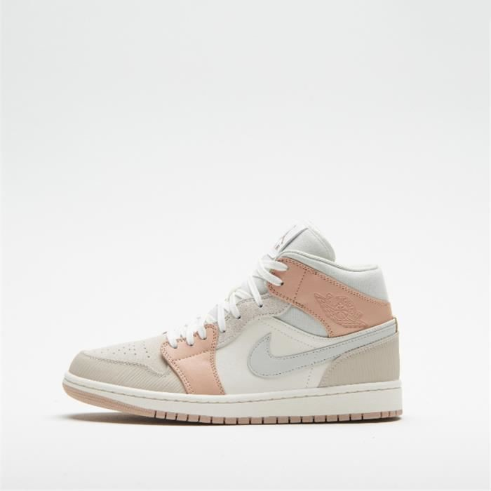 Baskets Original Air Jordan 1 Mid CV3044-100 Chaussures de pour Homme Femme