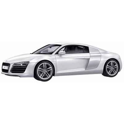 vehicule miniature audi r8 coupe blanche 1 43 s achat vente voiture construire cdiscount. Black Bedroom Furniture Sets. Home Design Ideas